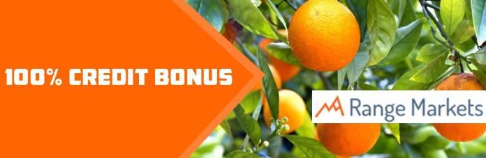 range markets Credit Deposit Bonus