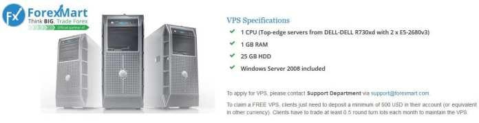 Forexmart Fully Free VPS Hosting