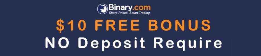 Binary.com Options NO DEPOSIT BONUS