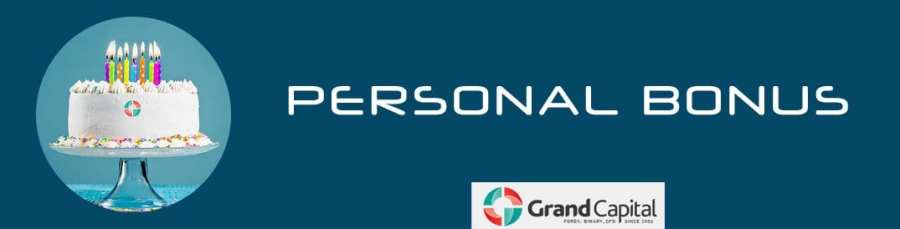 Grand Capital Personal Bonus Offer