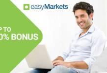 easymarkets first deposit bonus