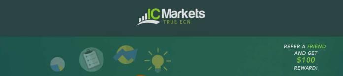 ic markets refered friend bonus
