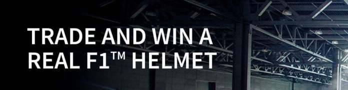 FXTM Win a Real F1 Helmet for Free