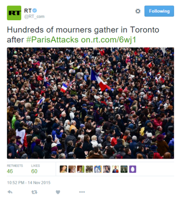 Capture Toronto mourners