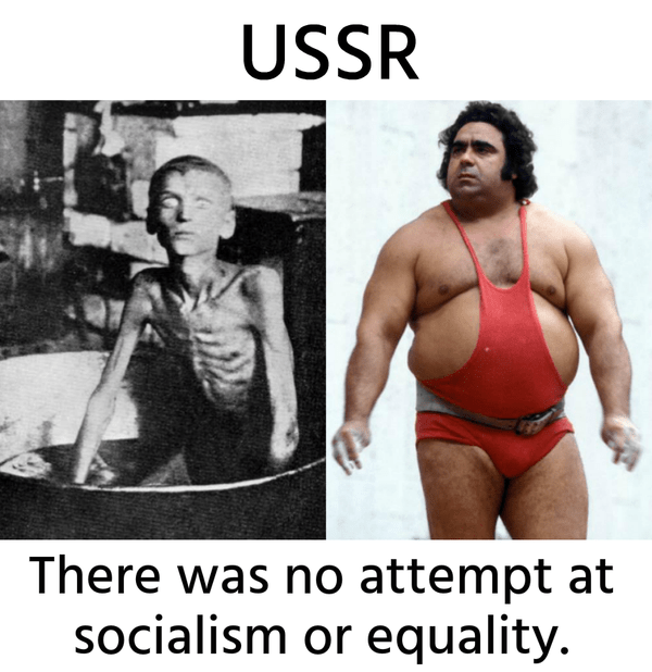USSR: There Was No Attempt at Socialism or Equality