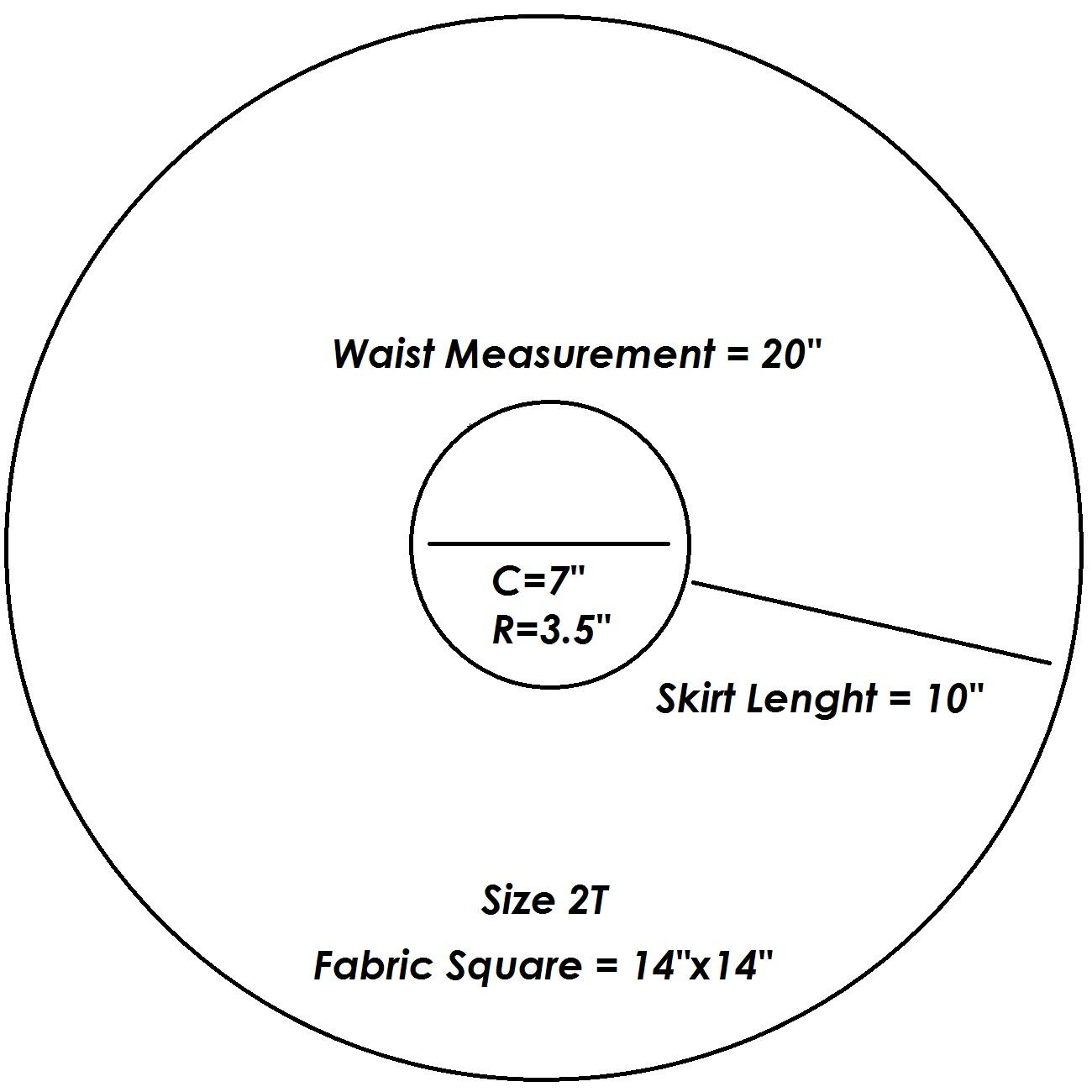 Pattern For Toddler Circle Skirt Sacesa79