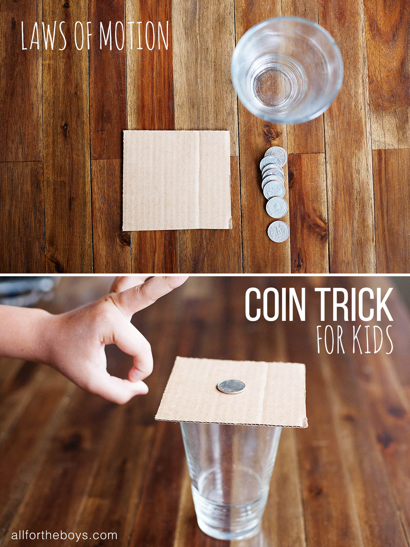 Coin Trick For Kids