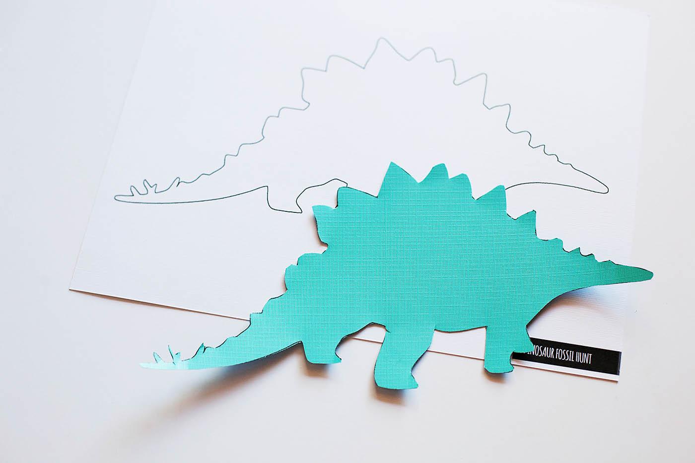 Dinosaur Fossil Hunt Printable Game