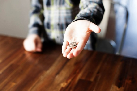 Easy Coin Trick for Kids — All for the Boys