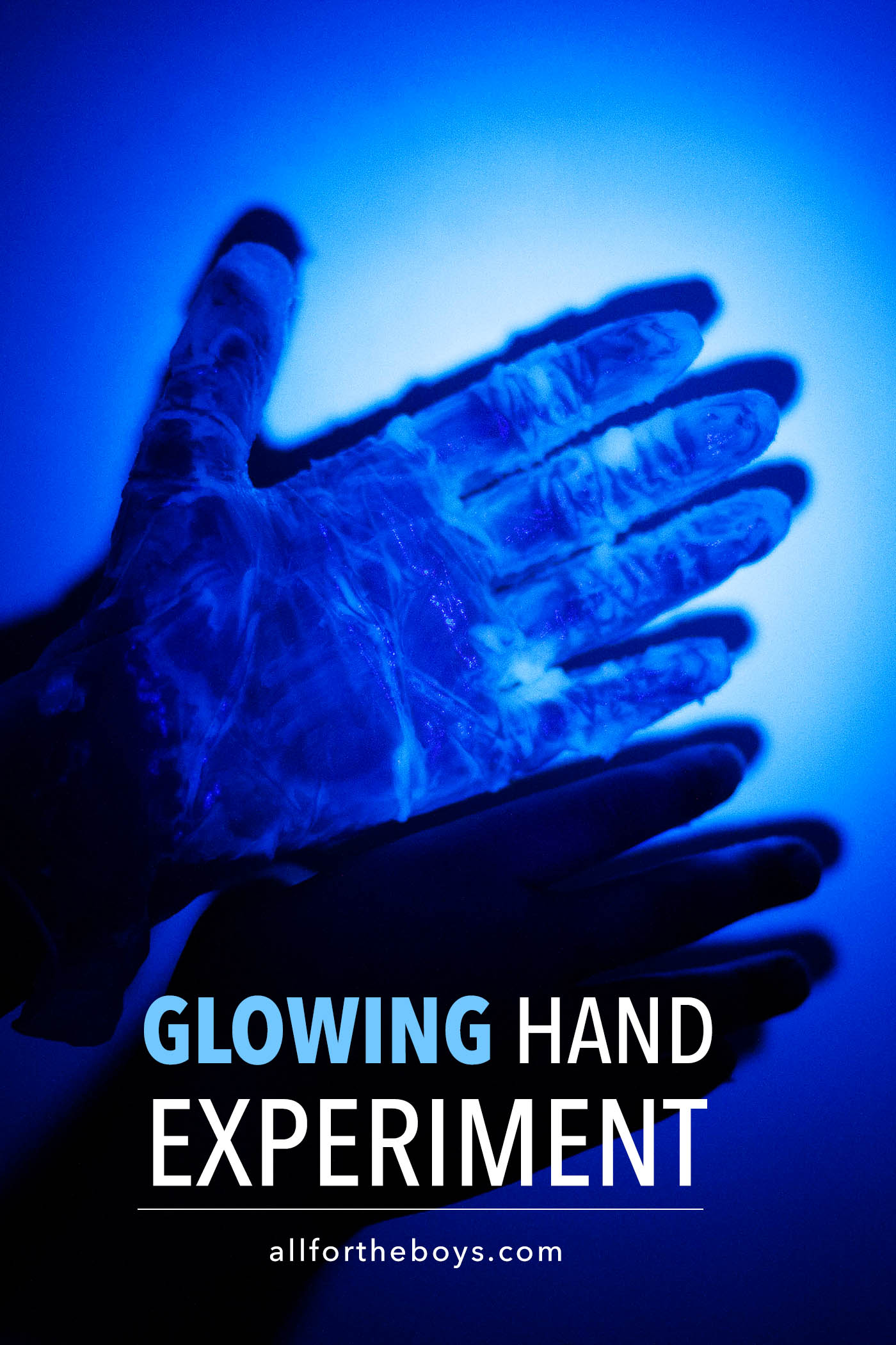 Glowing Hands Experiment