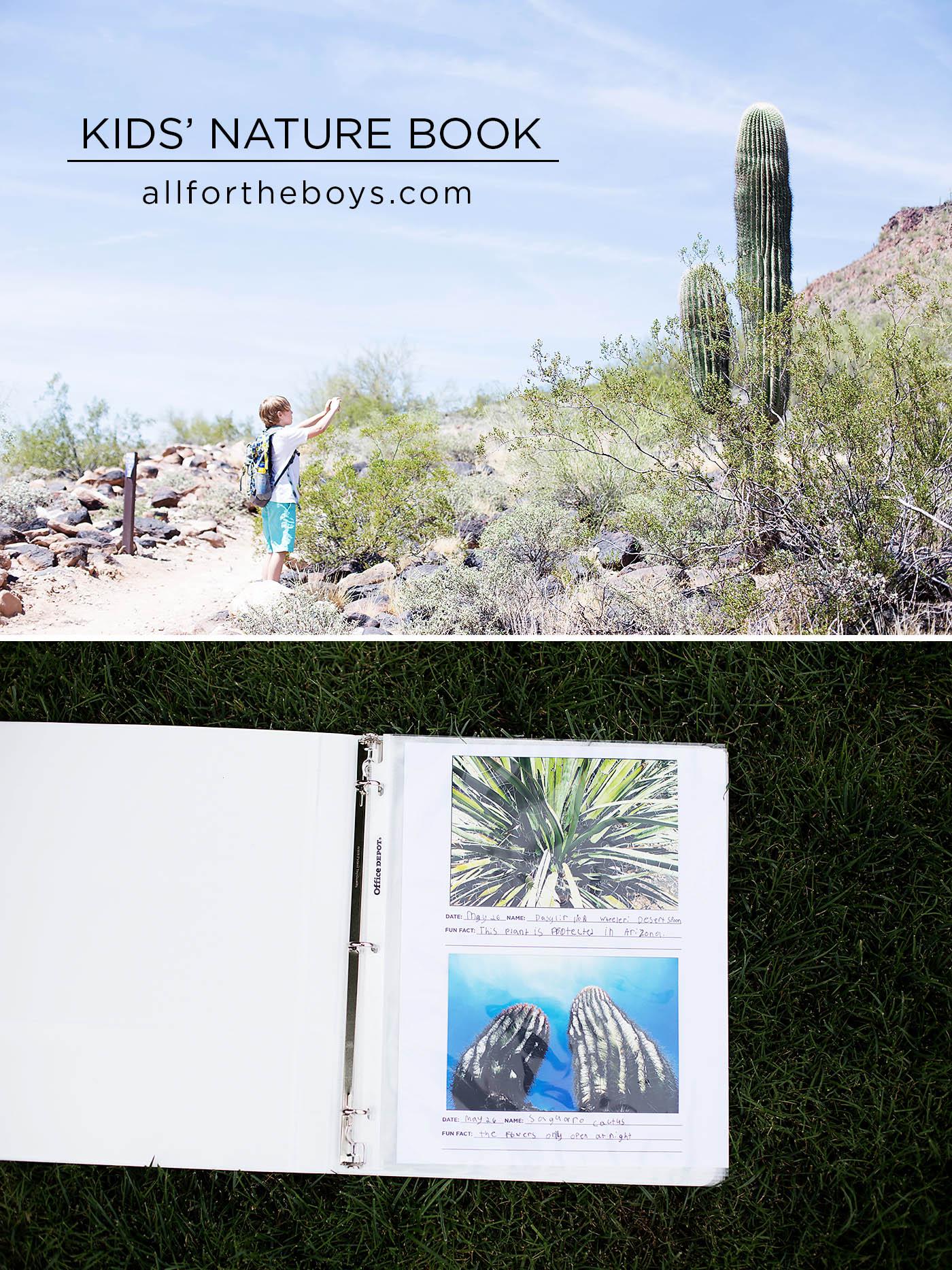 Diy Nature Book