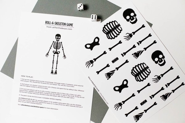free halloween party games printables # 13