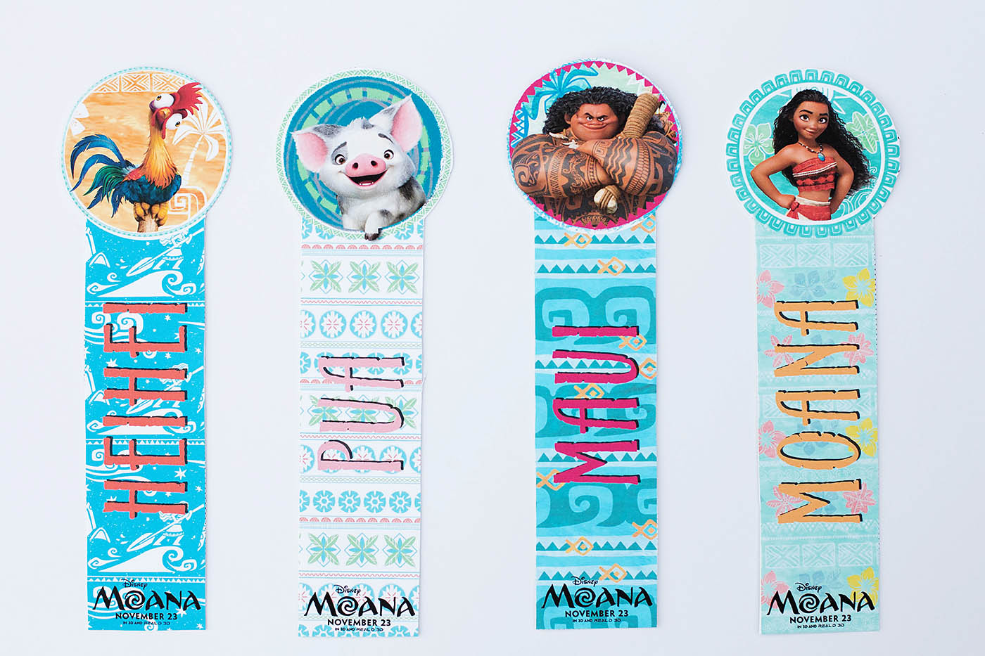 everyone can use a new bookmark these have the adorable characters
