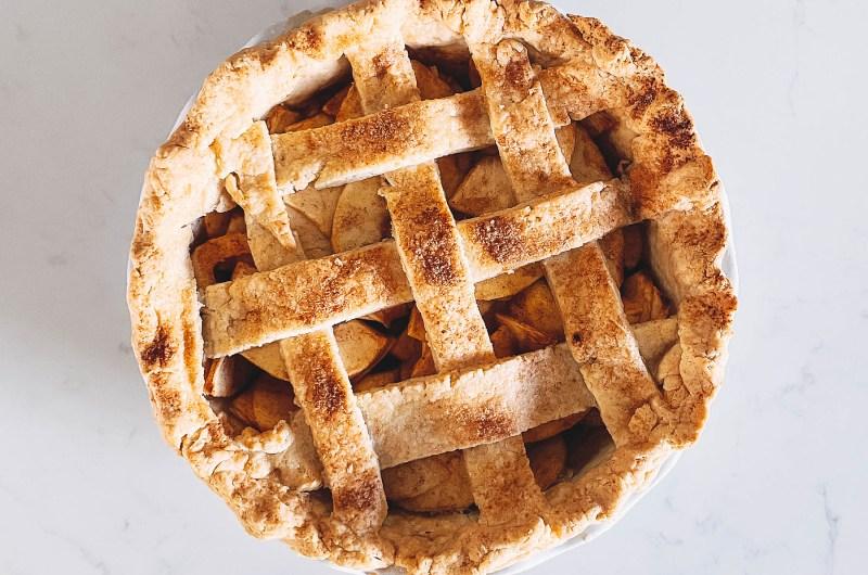 The Best Gluten Free Apple Pie!
