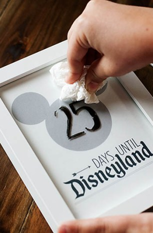 Disney Vacation Printable Countdown