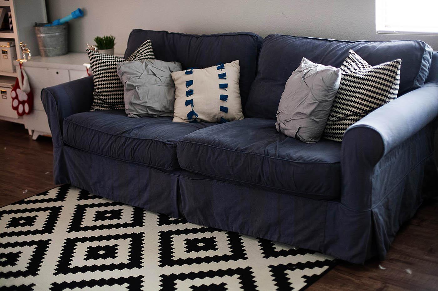 denim sofa slipcovers Centerfieldbarcom