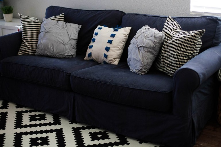 How To Dye A Sofa Slipcover All For The Memories