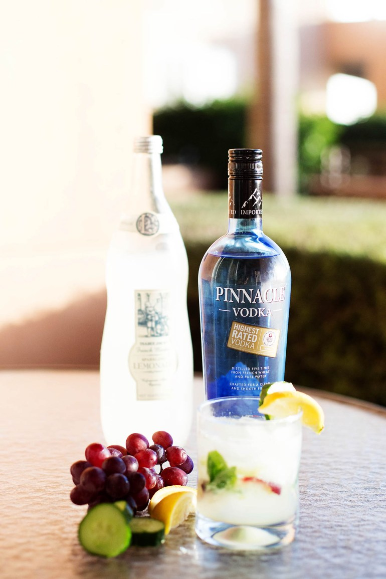 Easy, fresh, everyday cocktail with Pinnacle Vodka - SO good!