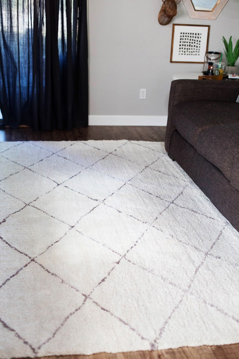 How to keep white rugs clean with pets!