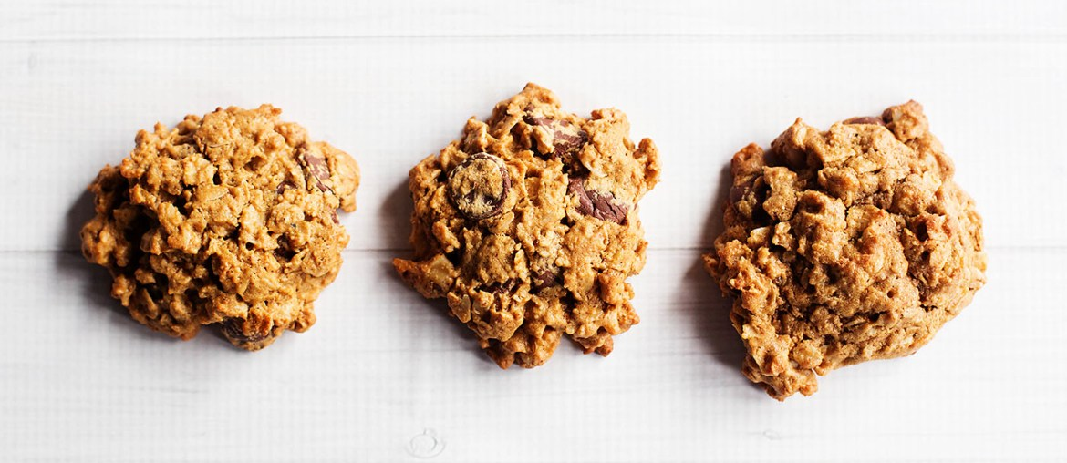Flourless Gluten Free Oatmeal Chocolate Chip Cookies