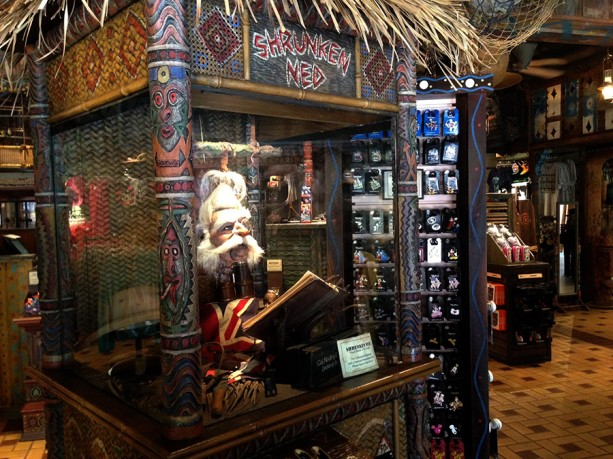 Shrunken Ned at Disneyland
