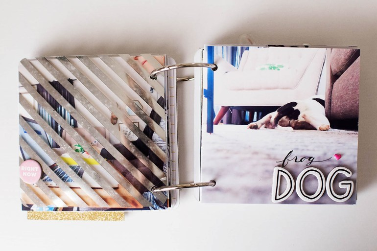Day in the Life mini album project by Allison Waken at All for the Memories