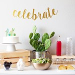Cactus themed baby shower ideas