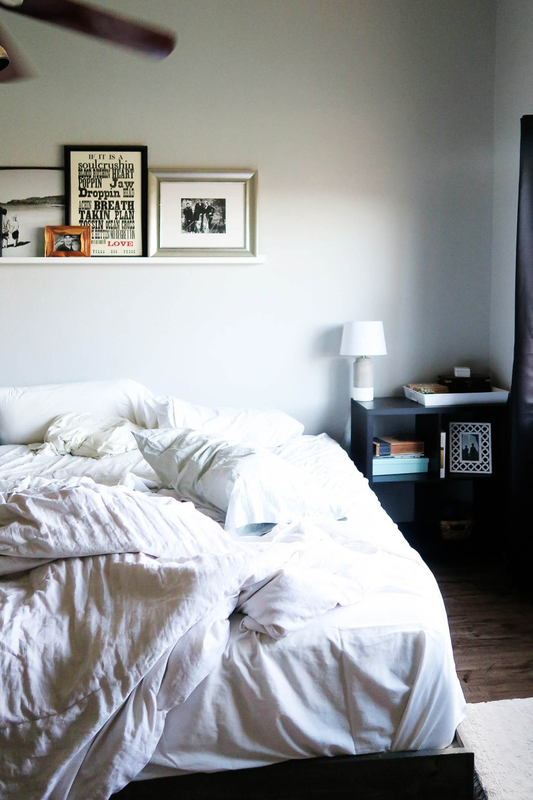 Bedroom update with pieces from At Home stores