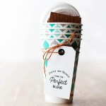 Super cute printable coffee gift tag