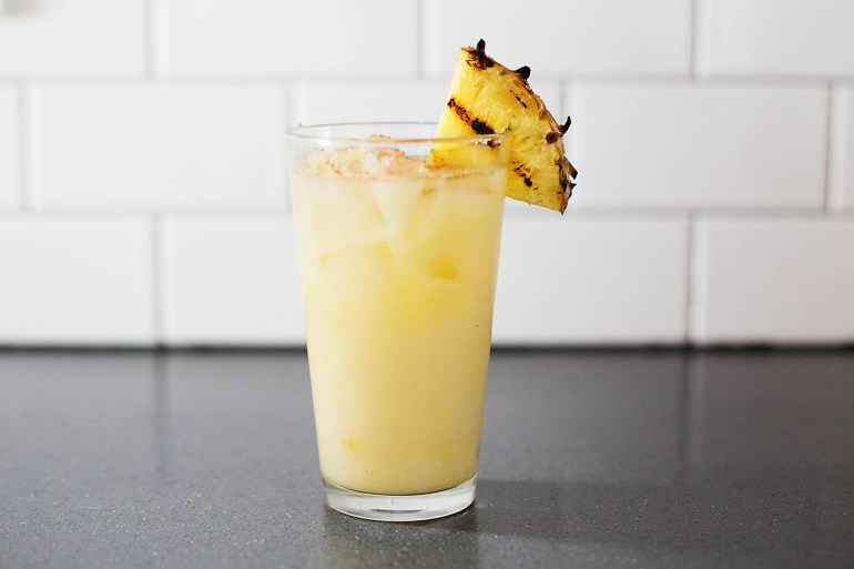 Pineapple Spice cocktail - blending favorite flavors from summer and fall!