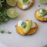 Mexican sweet potato crisps - perfect as a side dish or appetizer and naturally gluten free!