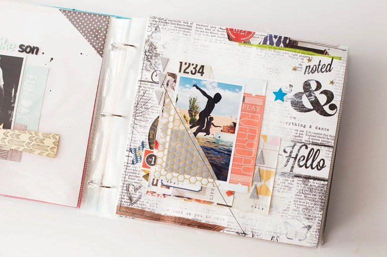 10 ways to scrapbook
