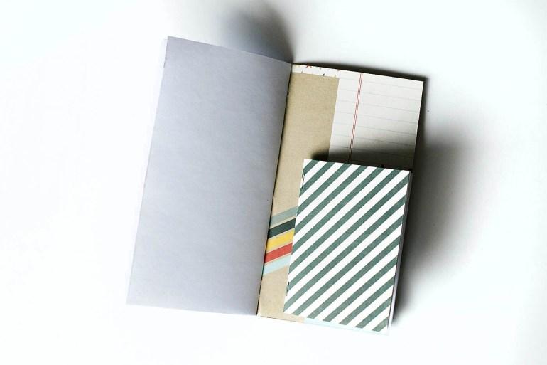 DIY Disney mini journal notebook and traveler's notebook!