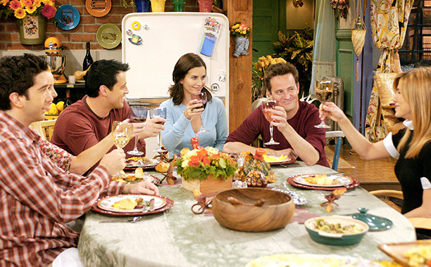 A list of all the FRIENDS Thanksgiving episodes to binge watch!