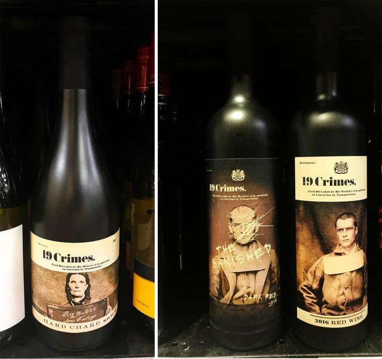 Entertaining wine labels plus bacon wrapped jalapeños