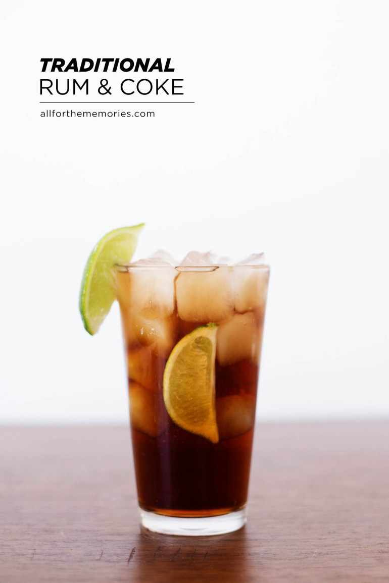 Classic rum and Coke plus tips on creating