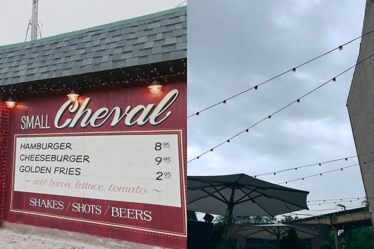 Small Cheval restaurant visited while on a multigenerational family vacation in Chicago, IL