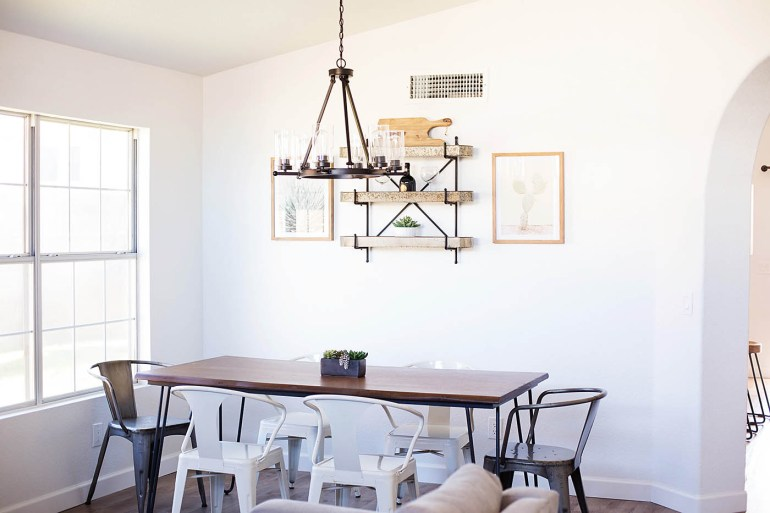 Living room makeover from Allison Waken at All for the Memories
