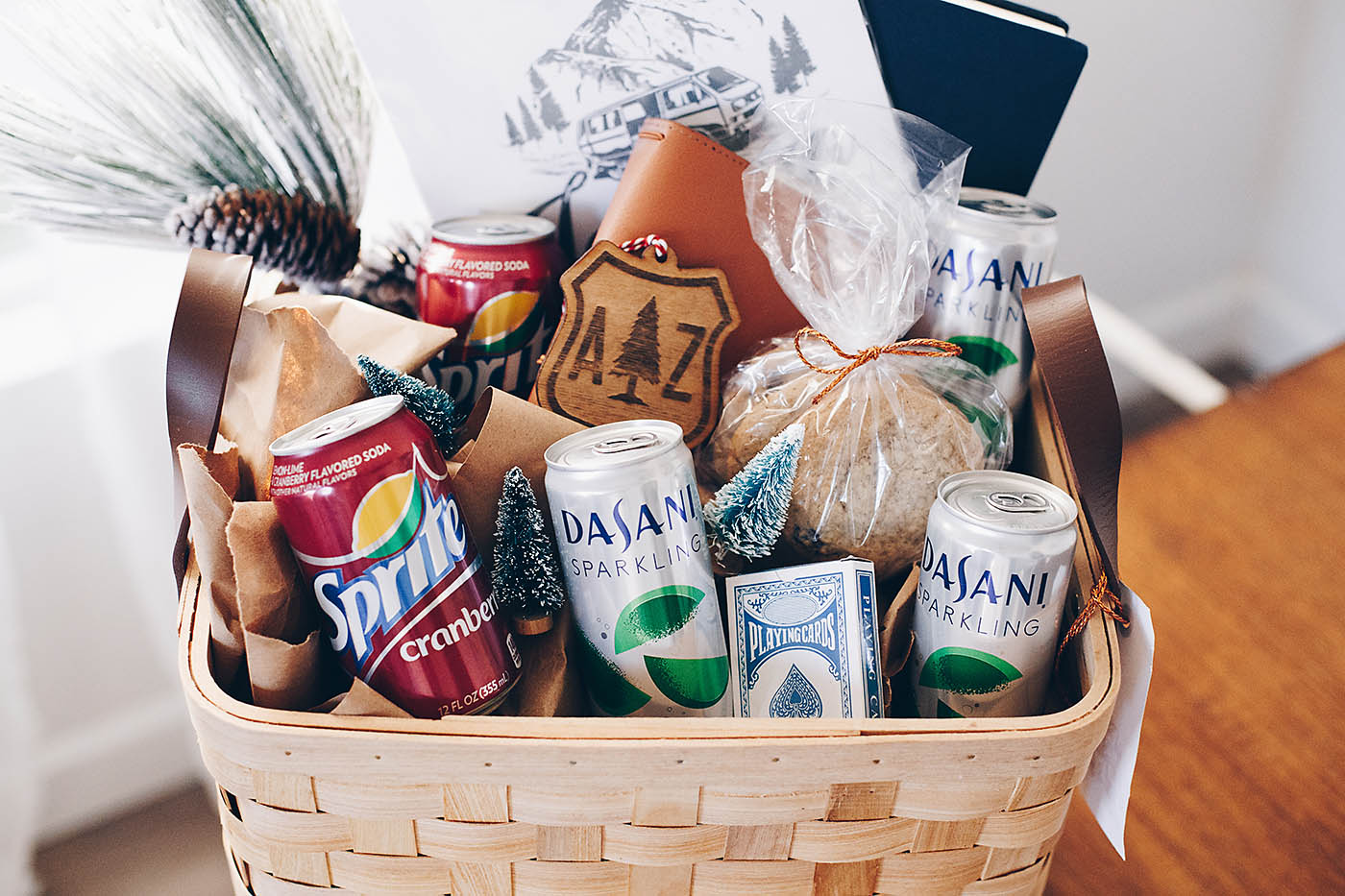 Road Trip Lover S Gift Basket All For The Memories