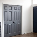 Dark Gray Doors – How to Paint Your Own
