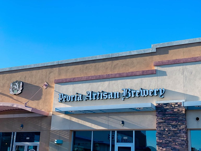 Unique restaurants to try in Peoria, Arizona - Peoria Artisan Brewery