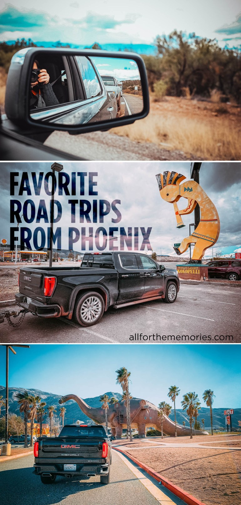 Favorite road trips from Phoenix (you can get to all of these places in less than 6 hours)