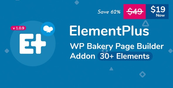 Element Plus v1.6.0 – WPBakery Page Builder Addon (Formerly Visual Composer) » Premium Scripts, Plugins & Mobile