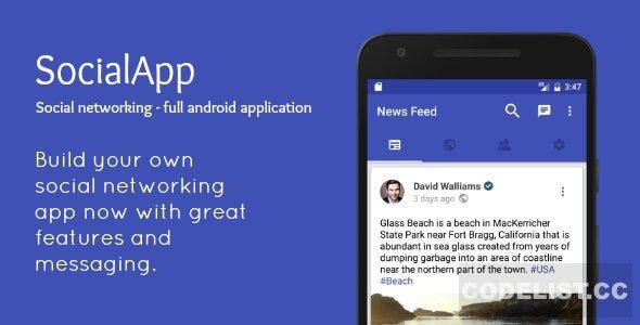 SocialApp v2.0 – Full Android Application