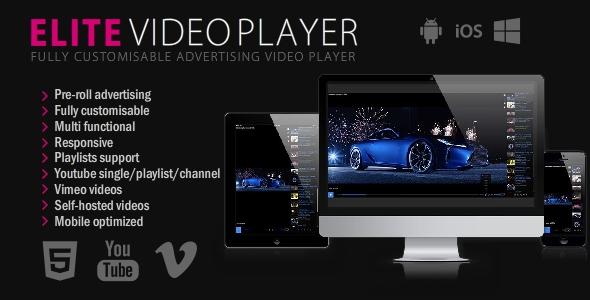 Codecanyon – Elite Video Player – WordPress plugin v6.7.0