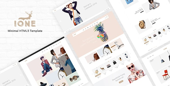 iOne – Minimal Responsive WooCommerce Theme v3.0.2