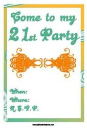 printable invitations party
