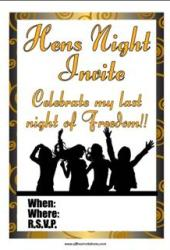 Hens night party bachelorette party