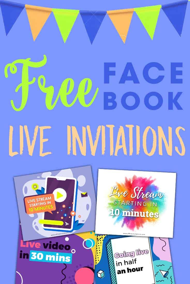 Free Facebook Live Invitations - All Free Invitations