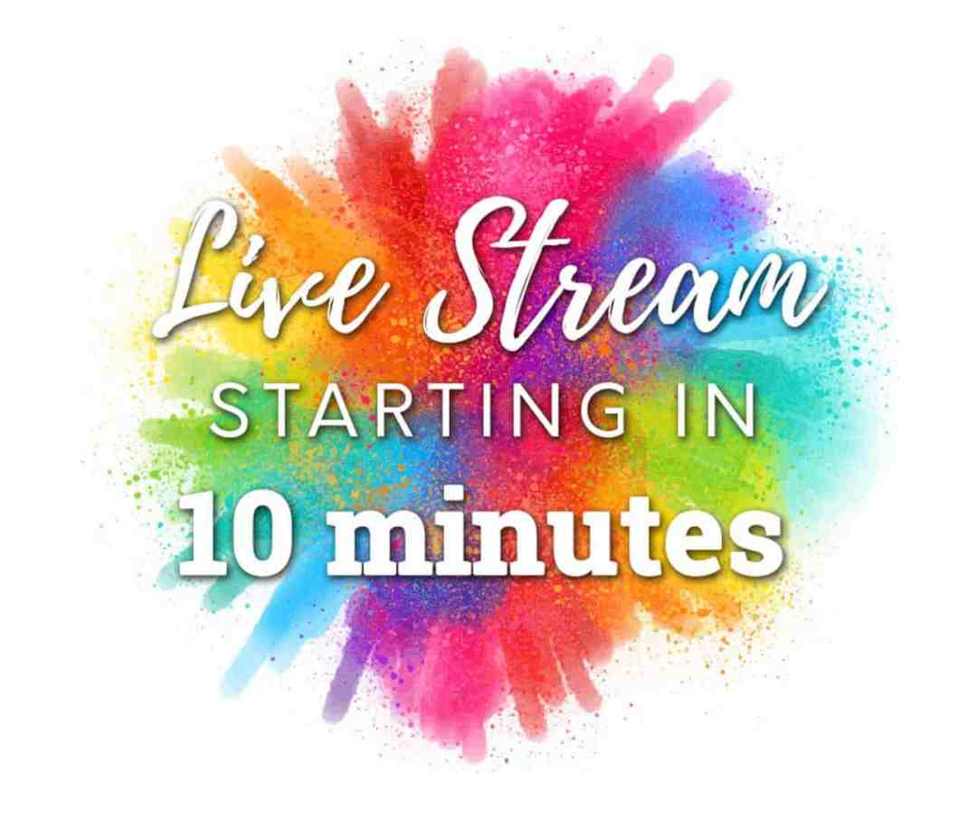 live stream starting in 10 minutes free facebook graphic colourful (Large)
